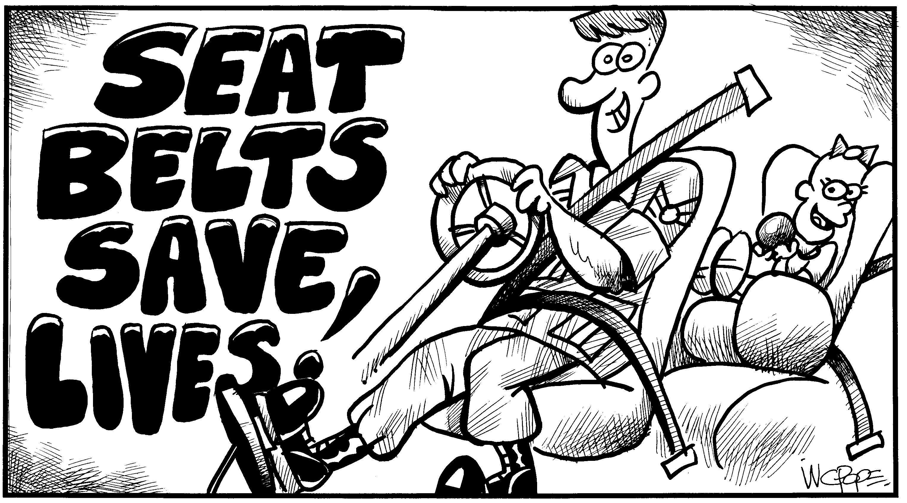 How Seatbelts Save Lives Essay